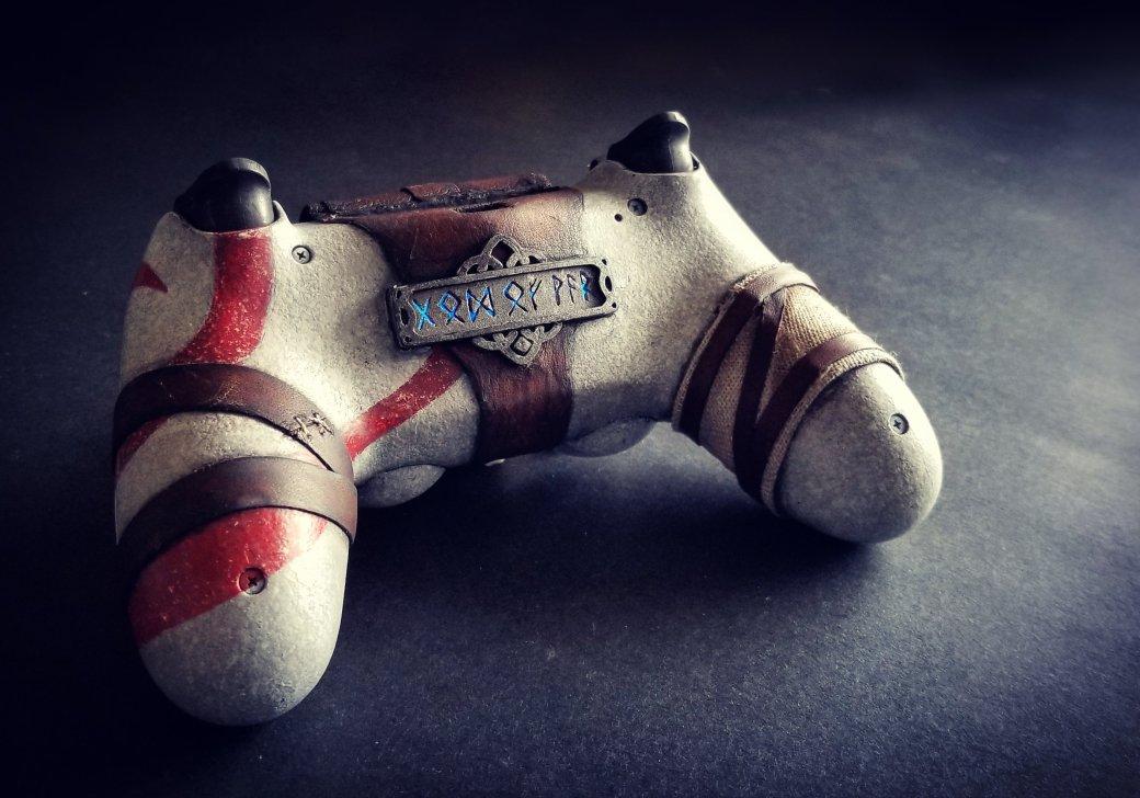 Взгляните напотрясающий DualShock 4 встиле новой God ofWar. - Изображение 2