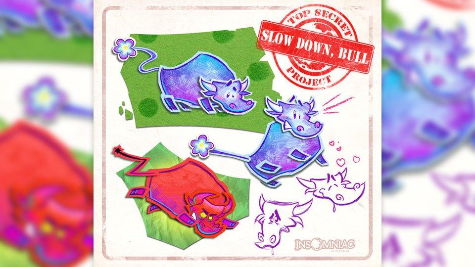 Создатели Sunset Overdrive взялись за экшен о нервном быке-трудяге  - Изображение 1