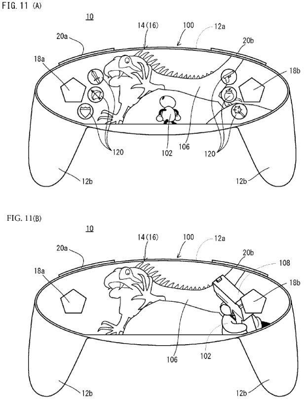 Как может выглядеть контроллер Nintendo NX: экран во весь геймпад - Изображение 2