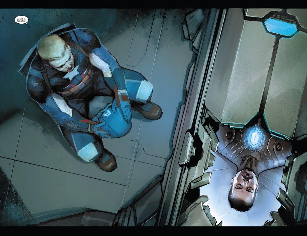 В эпилоге Civil War II Капитан Америка-агент Гидры стал главой ЩИТ - Изображение 2