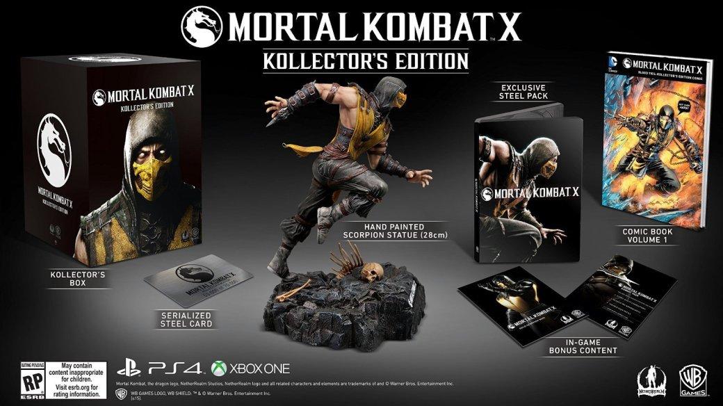 Коллекционное издание Mortal Kombat X: фигурка Скорпиона за $150 - Изображение 2