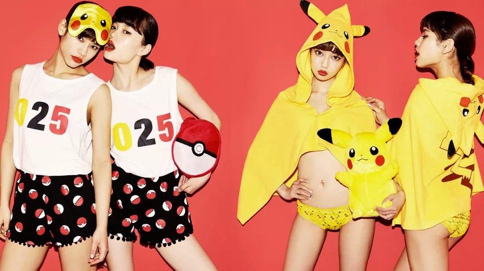 Японкам очень идет белье с покемонами - Изображение 1