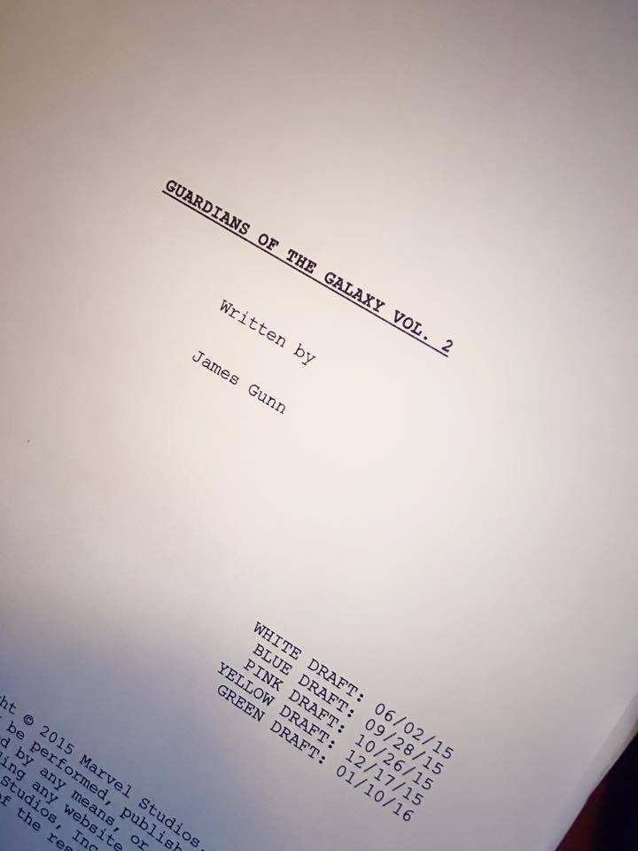 Сценарий «Стражей Галактики 2» закончен: Вин Дизель, проверь почту! - Изображение 2