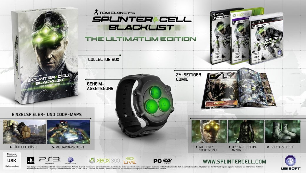 Splinter Cell Blacklist // The Ultimatum Edition - Изображение 11