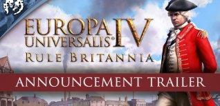 Europa Universalis IV: Rule Britannia. Первый геймплейный трейлер