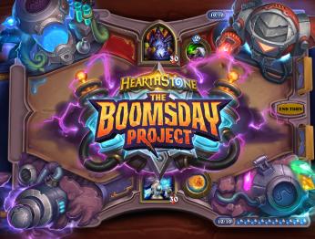 Hearthstone: The Boomsday Project. Анонсирующий трейлер