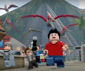 Новый трейлер Lego Jurassic World: игра за мозазавра и возня с ДНК