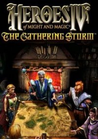 Heroes of Might and Magic IV: The Gathering Storm – фото обложки игры