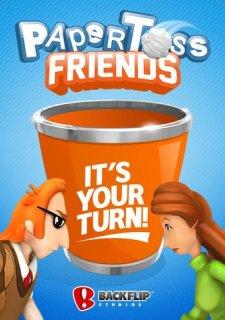 Paper Toss Friends