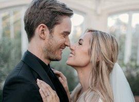 Блогер PewDiePie наконец женился на Марции Бизоньин. Он сделал ей предложение больше года назад!