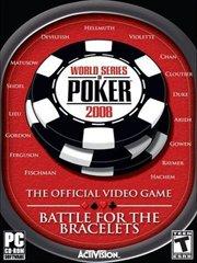 World Series of Poker 2008: Battle for the Bracelets – фото обложки игры