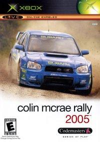 Colin McRae Rally 2005 – фото обложки игры