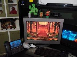 «Пузатый» ЭЛТ-монитор 16-летней давности оказался лучше в играх, чем современный 4К-экран