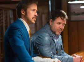 Гослинг и Кроу разносят пол-Лос-Анджелеса в трейлере «Славных парней»