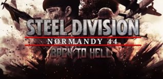 Steel Division: Normandy 44. Трейлер DLC Back To Hell