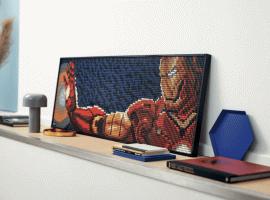 LEGO выпустит линейкуArt. Издеталей можно собрать портрет Железного человека