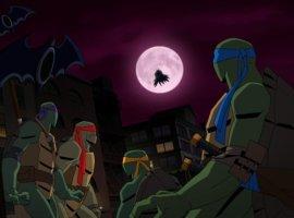 ВСети появился первый трейлер мультфильма «Бэтмен против Черепашек-ниндзя». Выглядит круто!