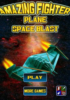 Amazing Fighter Plane Space Blast