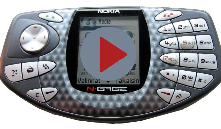 N-gage - сомнительная игровая консоль