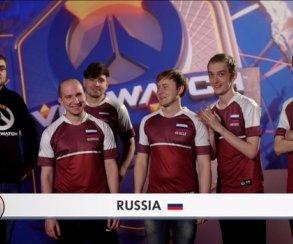 Blizzard определила Россию на 8 место в рейтинге Overwatch World Cup 2018