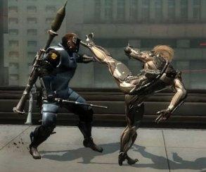 В новом моде Райден из Metal Gear Rising навсегда остался без катаны. Но у него есть руки и ноги!