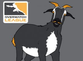 Пользователь «затролил» Overwatch League картинками коз