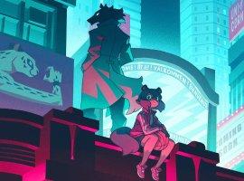 Новое аниме студии Trigger очеловекоподобных животных получило красочный трейлер