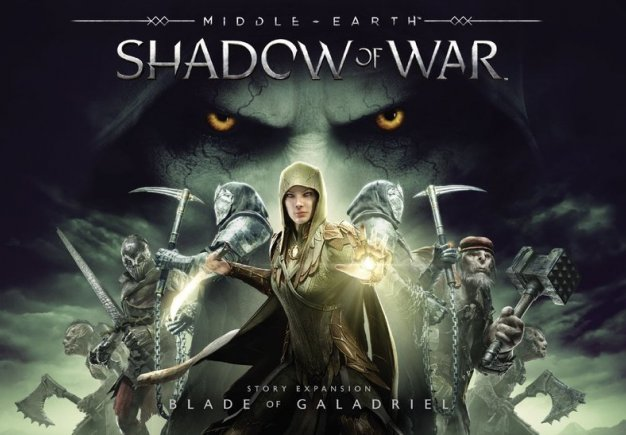 Middle Earth: Shadow of War - Blade of Galadriel. Релизный трейлер