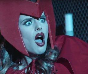 Вновой порнопародии Капитан Америка спасает Алую ведьму отслуги Таноса