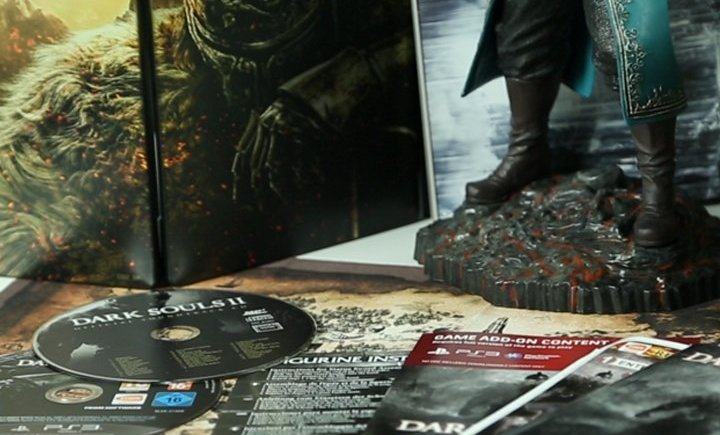 Dark Souls II Collectors Edition Unboxing