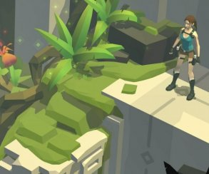Lara Croft Go — расхитительница гробниц отправляется на планшеты
