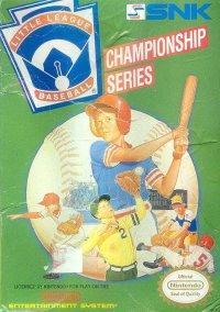 Little League Baseball: Championship Series – фото обложки игры