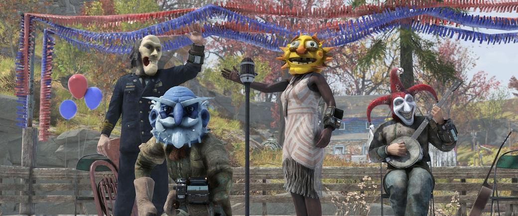 В Fallout 76 стартует первый сезонный ивент — с клоунами и лутом | Канобу - Изображение 1