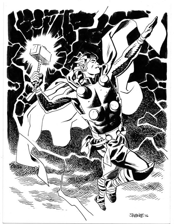 Супергерои Marvel и DC в рисунке Криса Сомни | Канобу - Изображение 8828