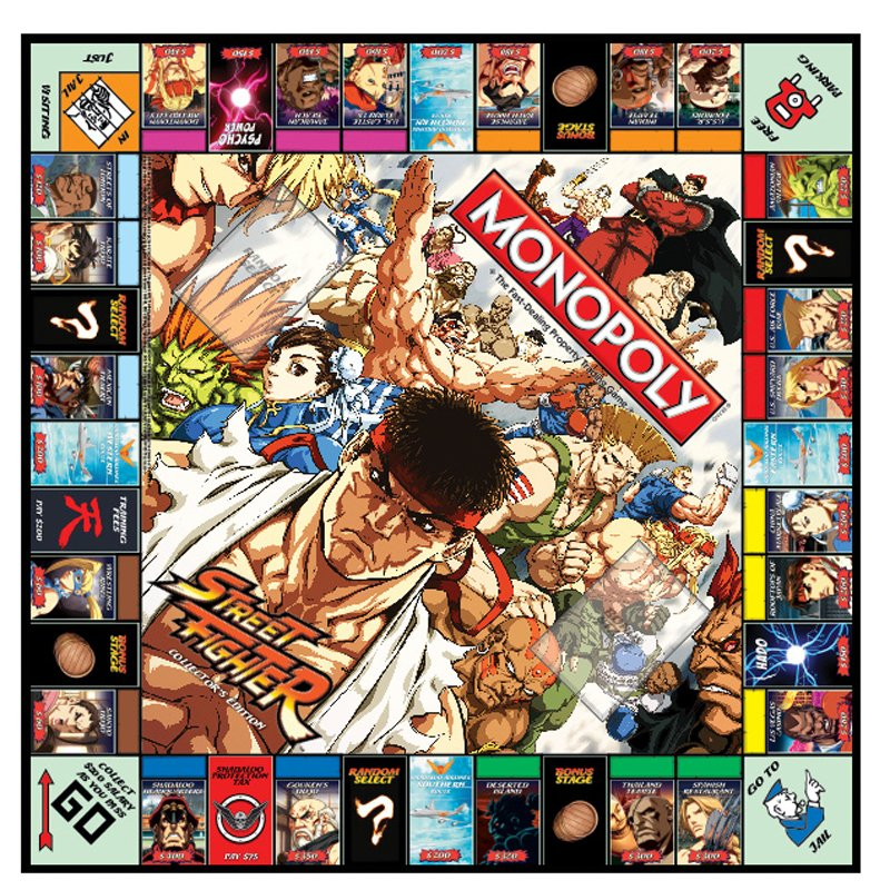 Street Fighter и другие тематические выпуски «Монополии» | Канобу - Изображение 3