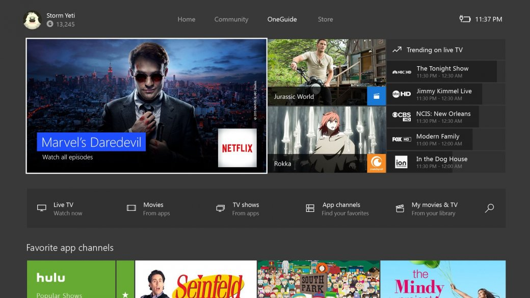 Обновление интерфейса Xbox One и обратная совместимость с Xbox 360 | Канобу