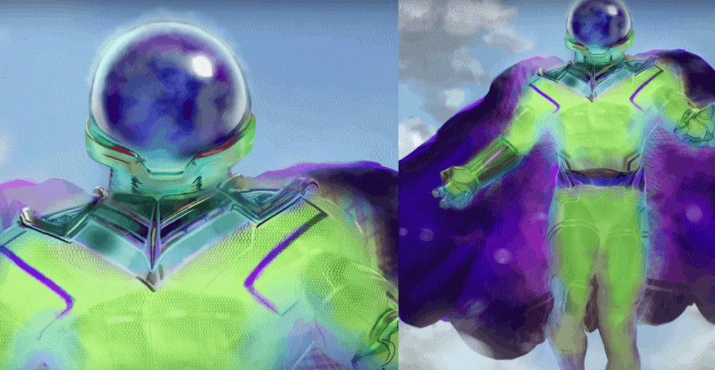 Концепт-арты Мистерио для «Вдали отдома» показывают совершенно другие костюмы   Канобу - Изображение 20