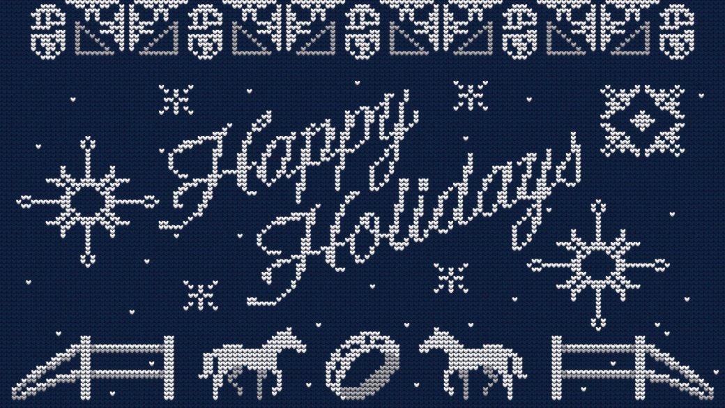 Издатели иразработчики поздравляют игроков сНовым годом иРождеством. Подборка открыток | Канобу - Изображение 6923