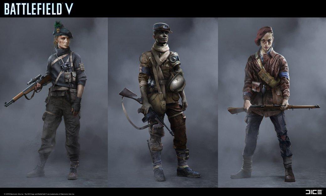 Взгляните на атмосферные концепт-арты и иллюстрации по Battlefield V   Канобу - Изображение 268