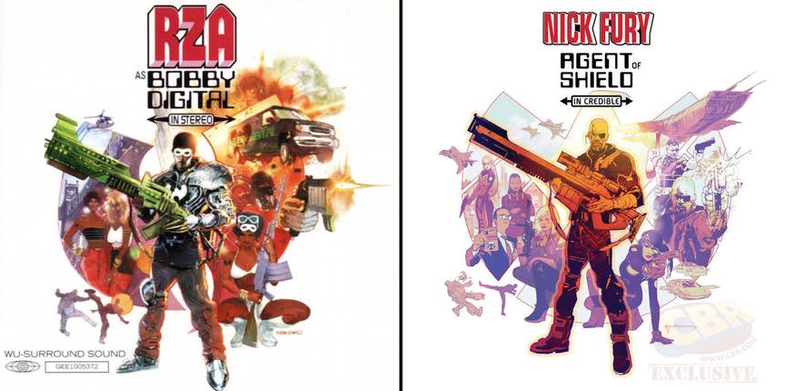 Новые хип-хоп обложки от Marvel: 2pac, Method Man, Frank Ocean  | Канобу - Изображение 780