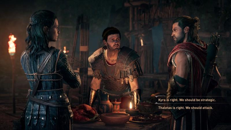 Однополая любовь инелинейность— что журналистам удалось разузнать обAssassins Creed: Odyssey. - Изображение 1