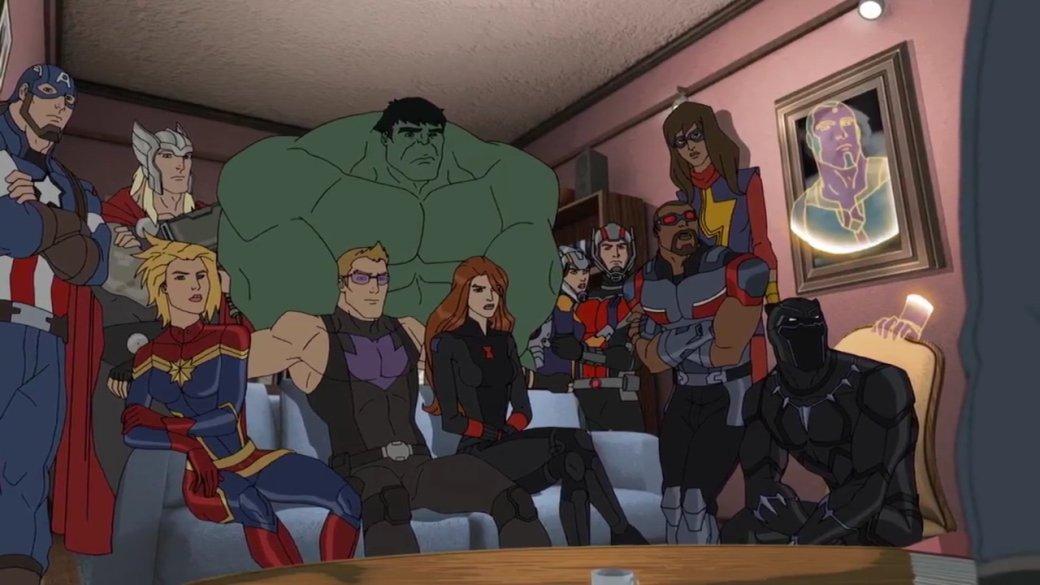 Все знают киновселенную Marvel. Нокак там дела санимацией? | Канобу