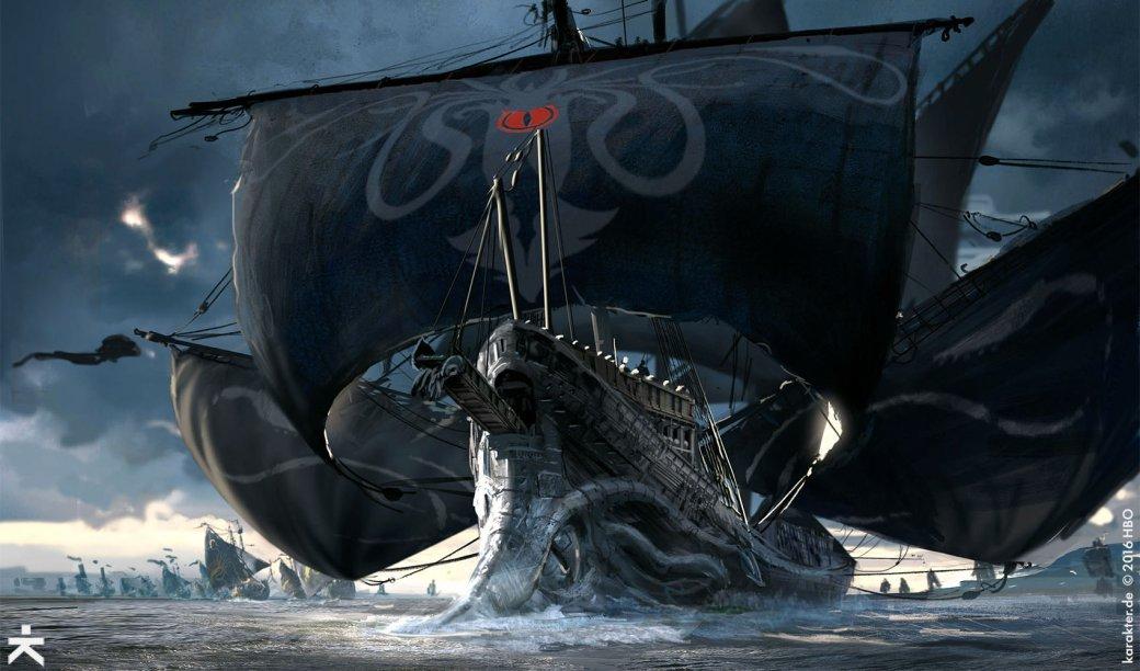Взгляните напотрясающие концепт-арты 7 сезона «Игры престолов». - Изображение 15