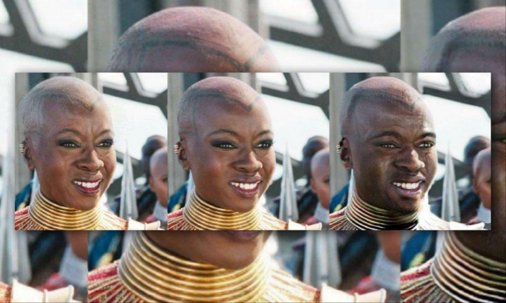 Старик Тор иДракс-девушка: нагероев Marvel применили FaceApp. Результат впечатляет!. - Изображение 10