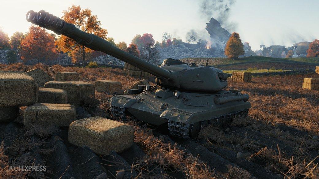 В World of Tanks появится танк с двумя стволами. Это будет имба?