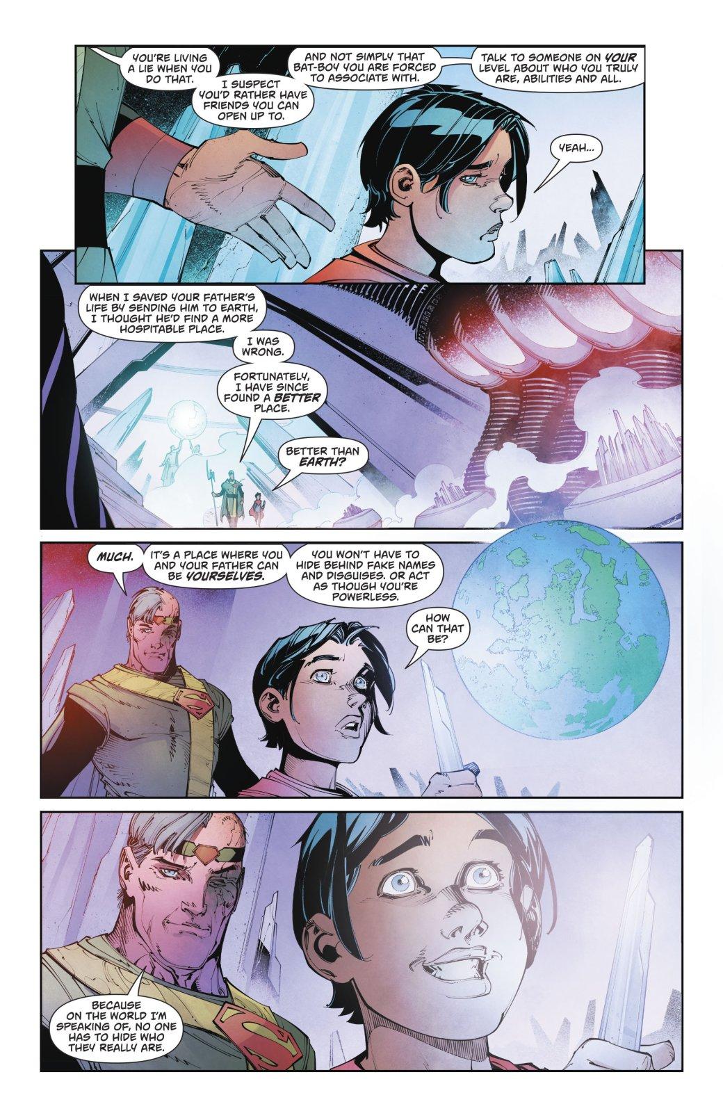 Сможетли Мистер Озуговорить Супермена покинуть Землю?. - Изображение 3
