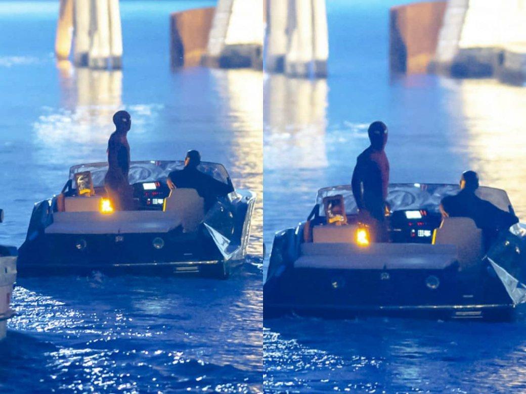 Человек-паук и Ник Фьюри вместе плывут по каналам Венеции — свежие кадры со съемок «Вдали от дома» | Канобу - Изображение 3622