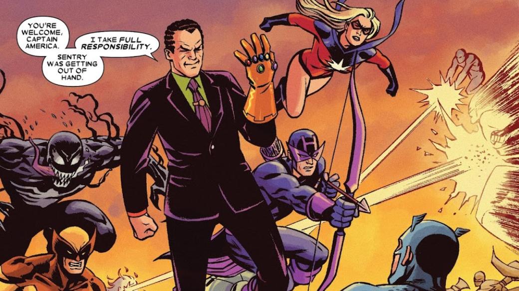 Какие персонажи Marvel, кроме Таноса, использовали Перчатку Бесконечности? | Канобу - Изображение 13