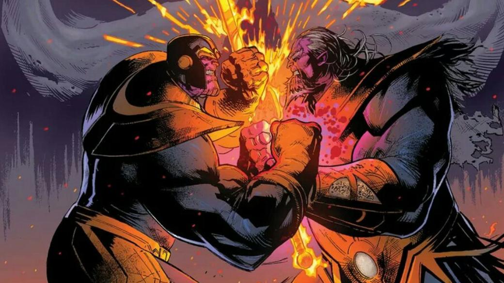 Космический Призрачный гонщик иКороль Танос избудущего. Что такое Thanos Wins. - Изображение 1
