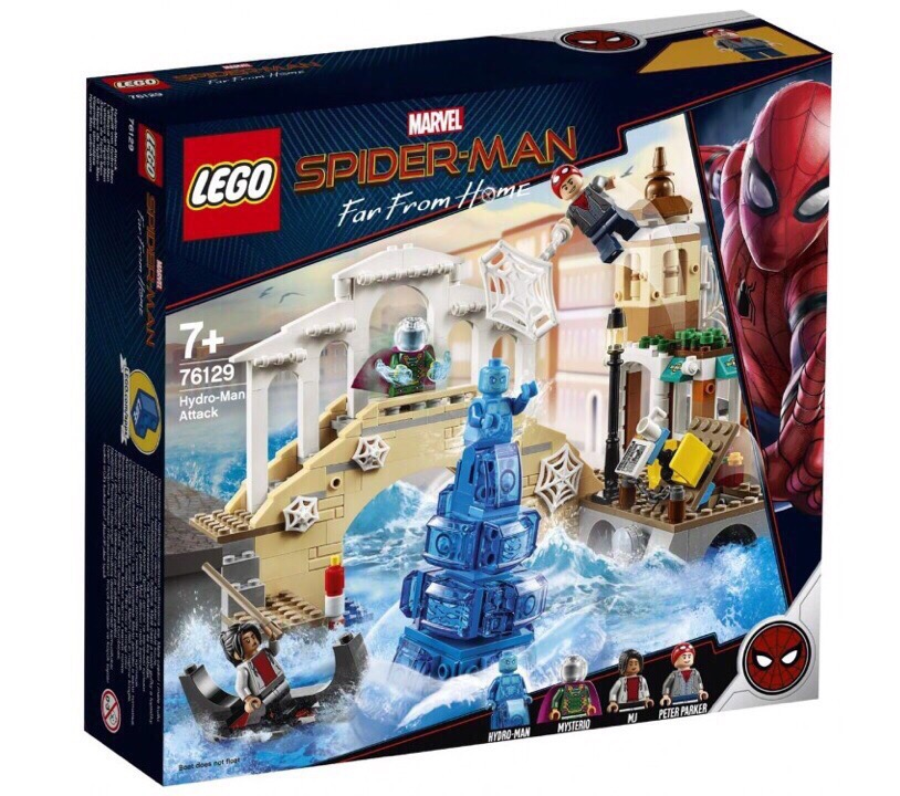 В сети оказались фотографии Lego-наборов нового «Человека-паука» Теперь мы знаем имена злодеев!   Канобу - Изображение 2